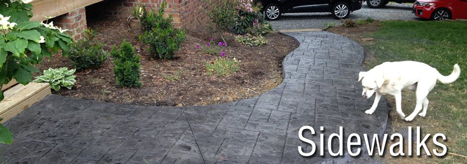 Carolina Decorative Concrete - sidewalks